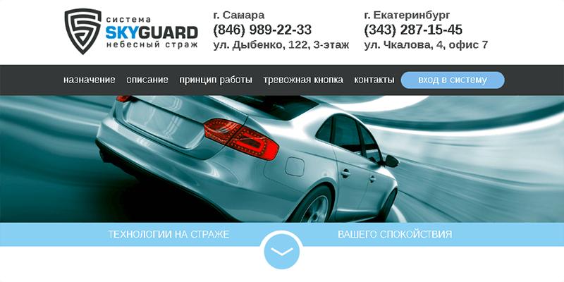 Система слежения Skyguard